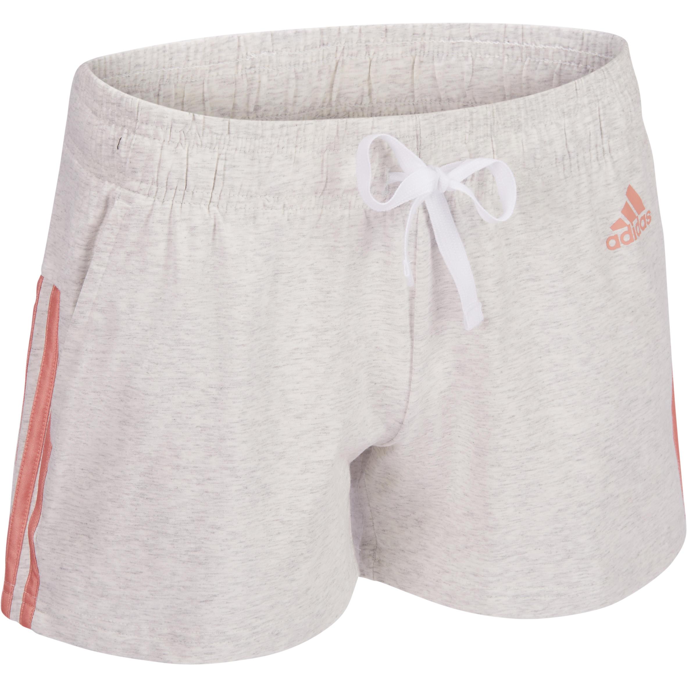 algodón de 3 Shorts para mujer Adidas GymPilates bandas QsdtrhC