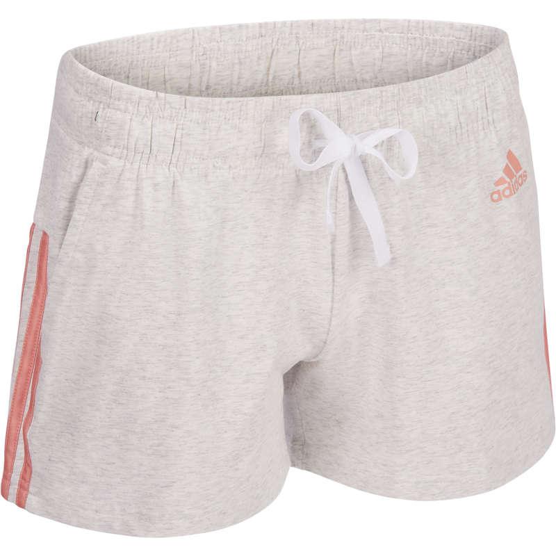 WOMAN T SHIRT LEGGING SHORT Pilates - Gym Shorts 3 Stripes ADIDAS - Pilates Clothes