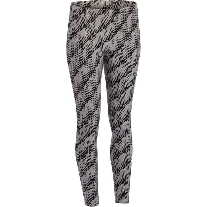 Legging Adidas Gym & Pilates femme coton imprimé