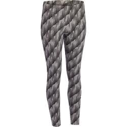 Dameslegging Adidas voor gym en pilates katoen print