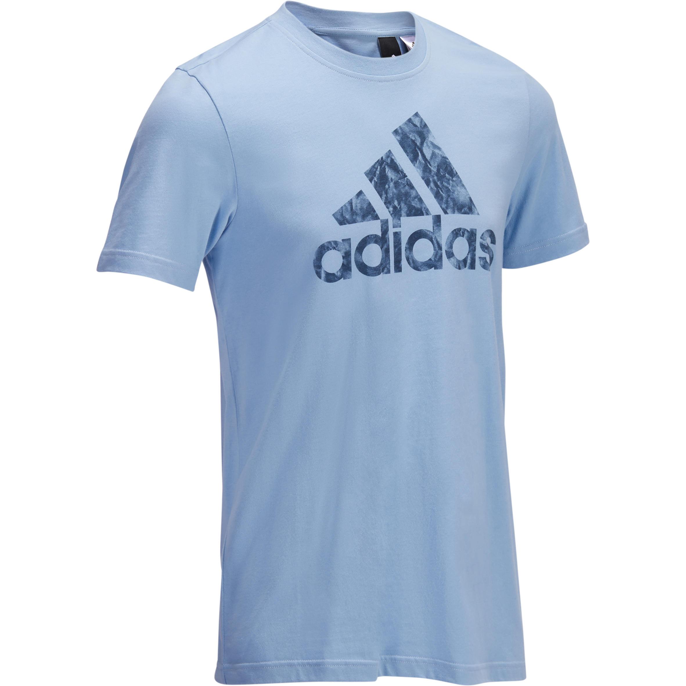 Adidas Heren T-shirt Adidas voor gym en pilates grafisch logo