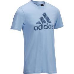 Heren T-shirt Adidas voor gym en pilates grafisch logo