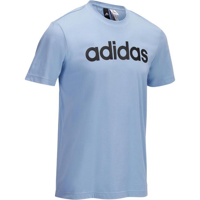 T-Shirt Adidas Gym & Pilates homme logo graphique bleu - 1322227
