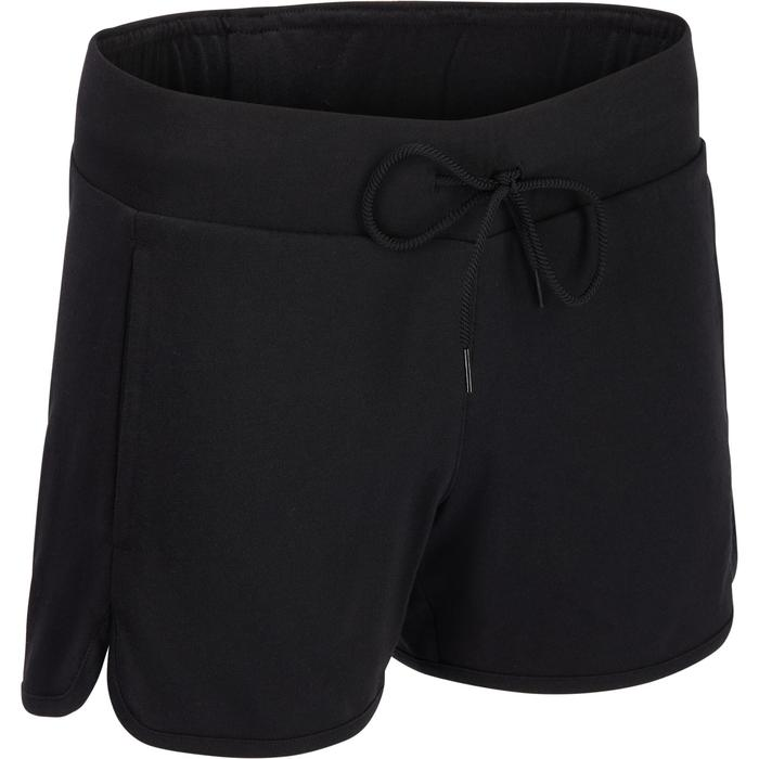 Short Adidas Gym & Pilates femme coton léger - 1322237