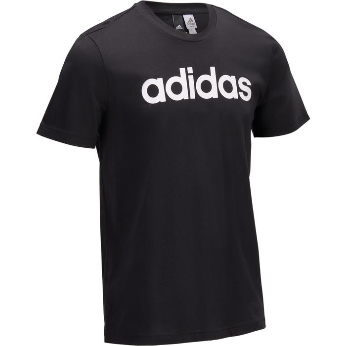 T-shirt Adidas 500 Gym Stretching noir homme - 1322258
