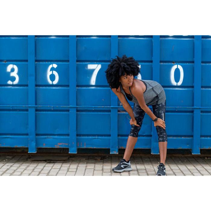 Joggingschoenen voor dames Run Comfort zwart grijs