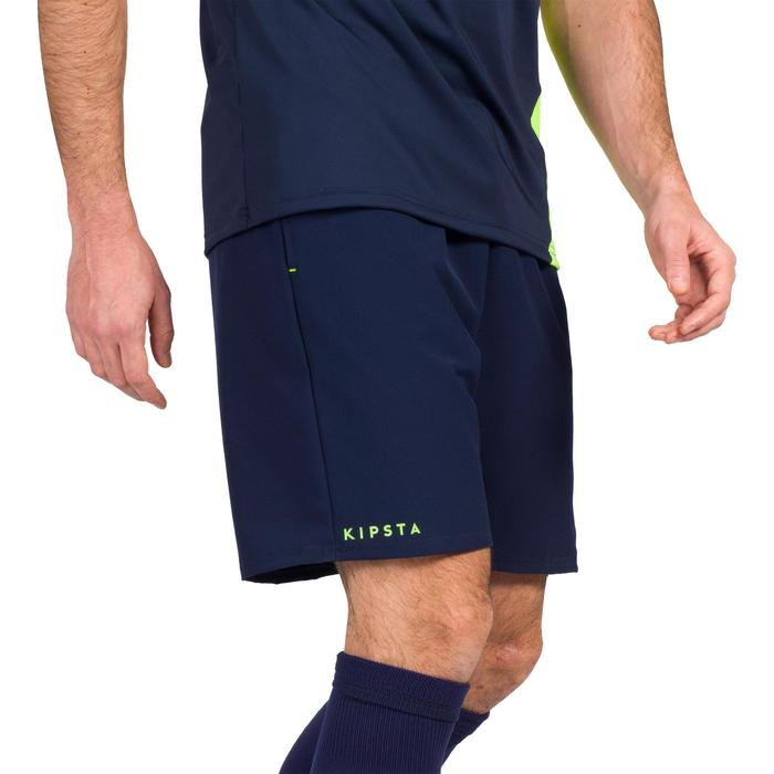 Herenshort voor veldhockey FH500 blauw