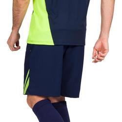 Pantalón corto de hockey sobre hierba hombre FH500 azul