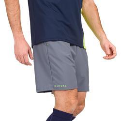 Pantalón corto de hockey sobre hierba hombre FH500 gris