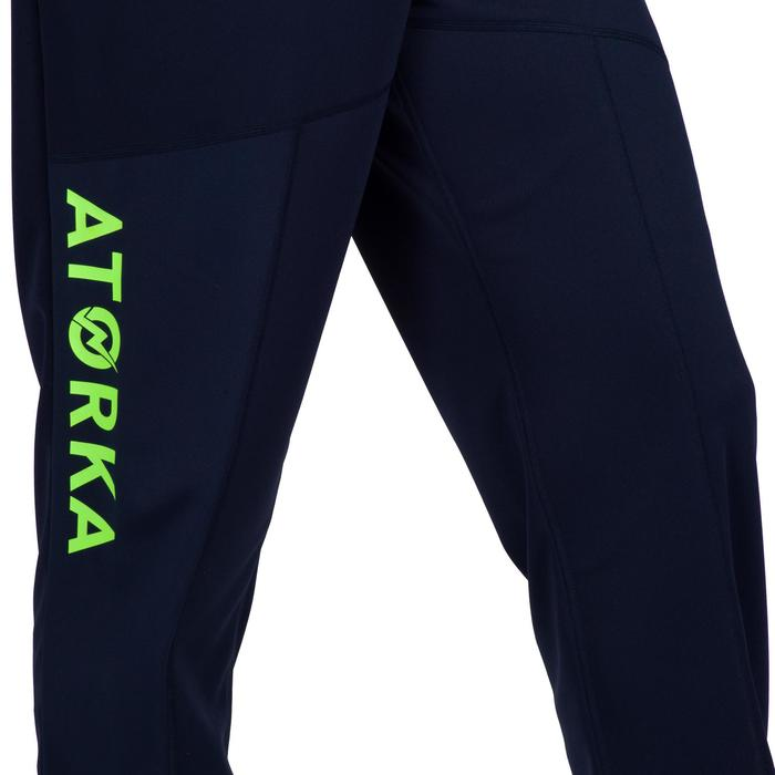Pantalón portero de balonmano adulto H500 azul / amarillo