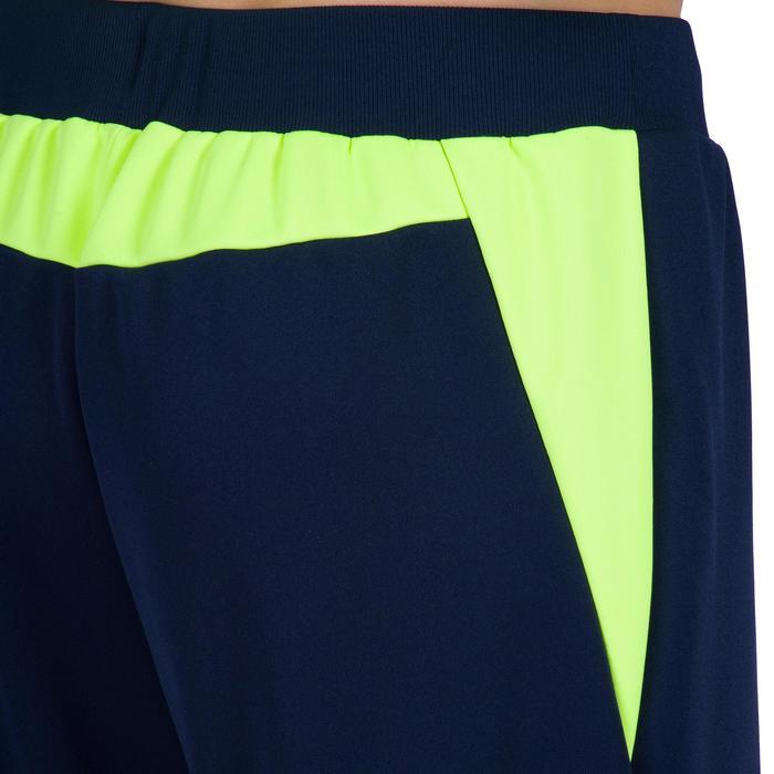 Handball Torwarthose H500 blau/gelb