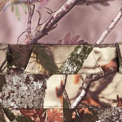 Geluidloze en ademende camouflagebroek voor de jacht 500 boscamouflage