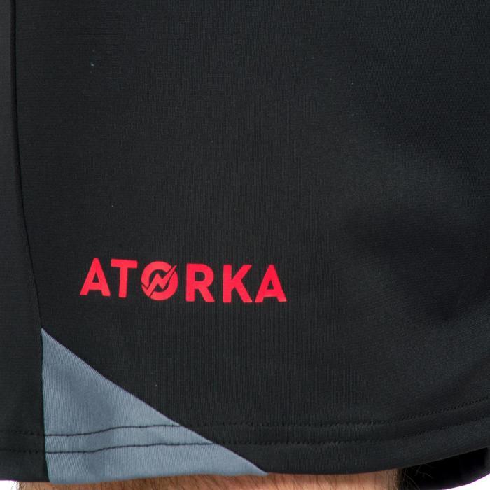 Pantalón de Balonmano Atorka H500 Hombre Negro Gris
