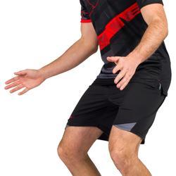 Handbalbroekje heren H500 zwart / grijs