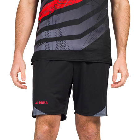 H500 Handball Shorts - Black/Grey