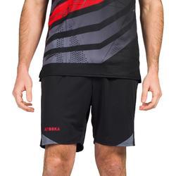 Short de balonmano hombre H500 negro / gris