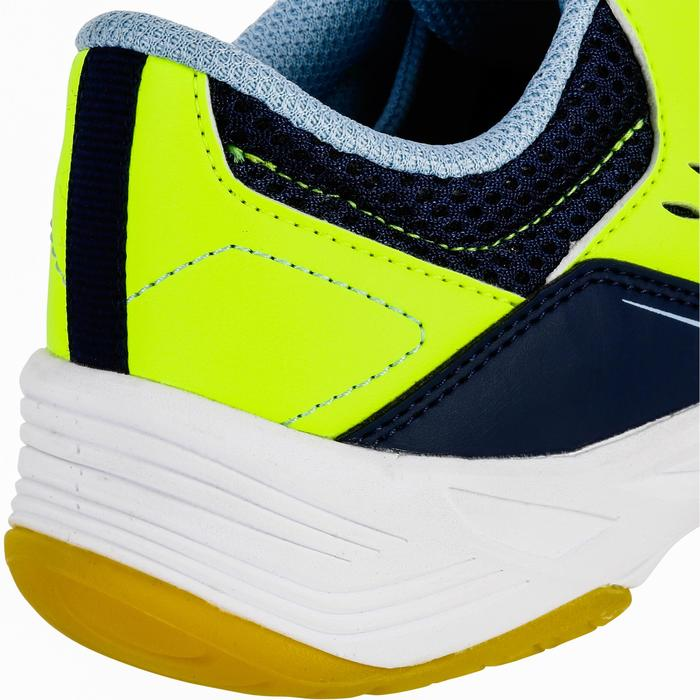 Chaussures de Handball H100 fille avec lacets violettes et roses - 1322697