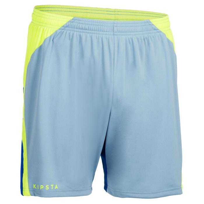 Shorts V500 Herren blau/gelb