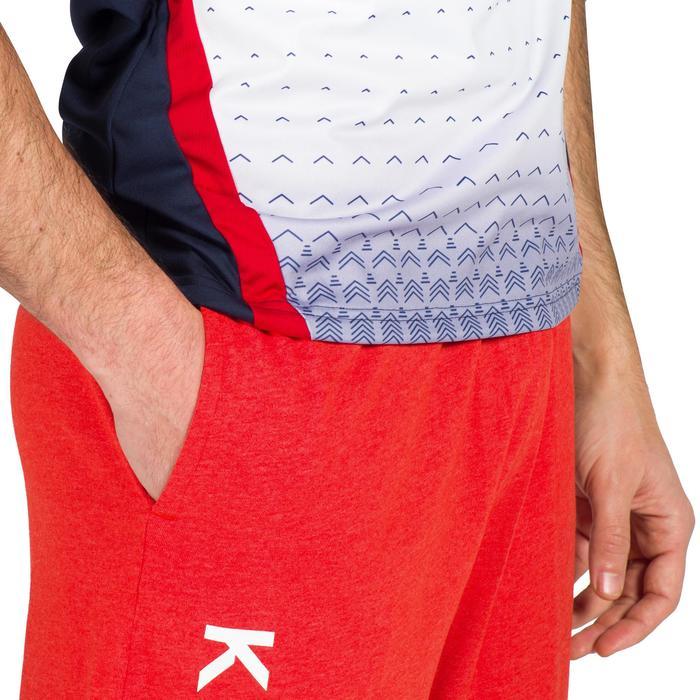 Volleybalbroek voor heren V100 rood