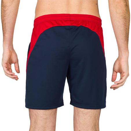 Short V500 hombre azul y rojo