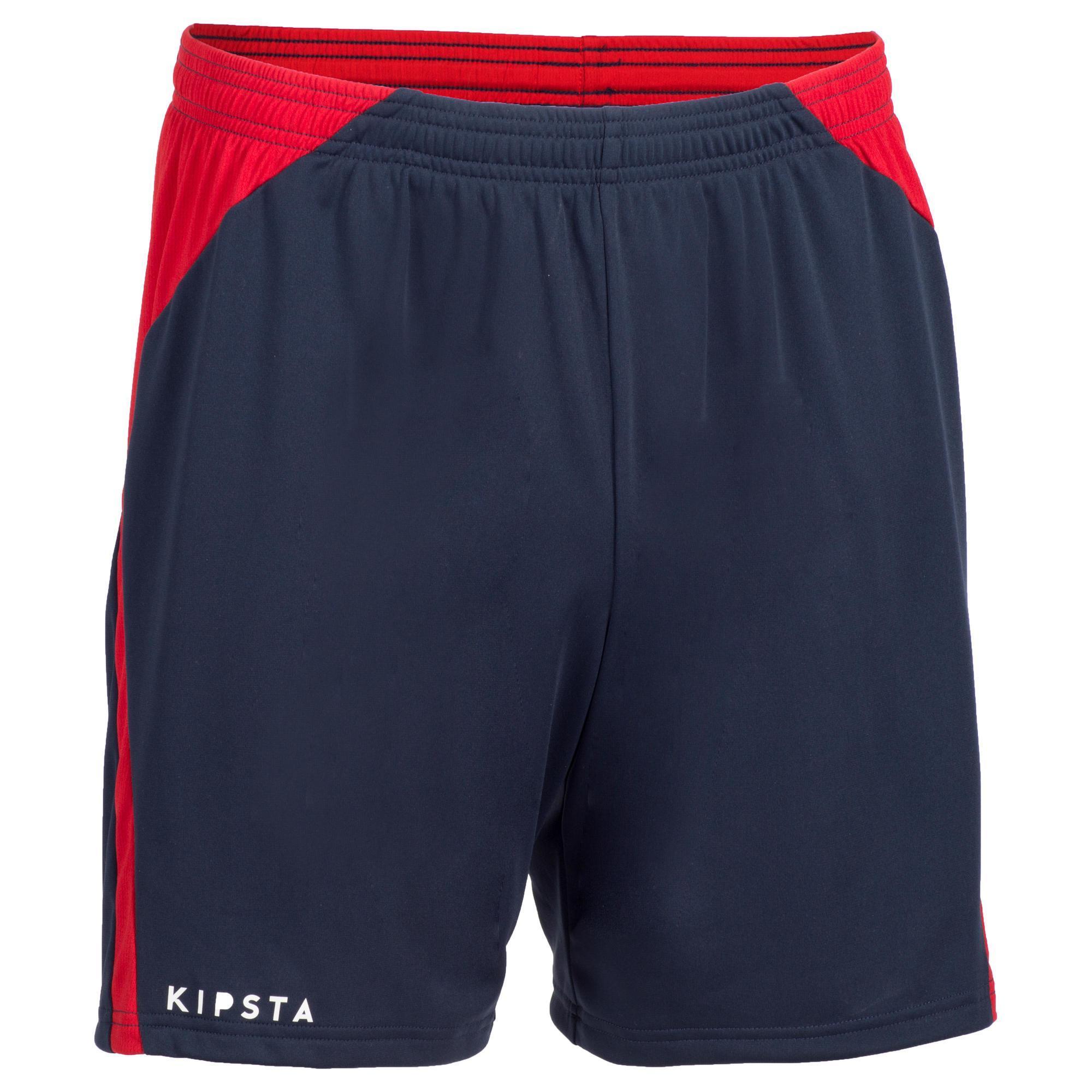 Allsix Volleybalbroekje heren V500 blauw/rood