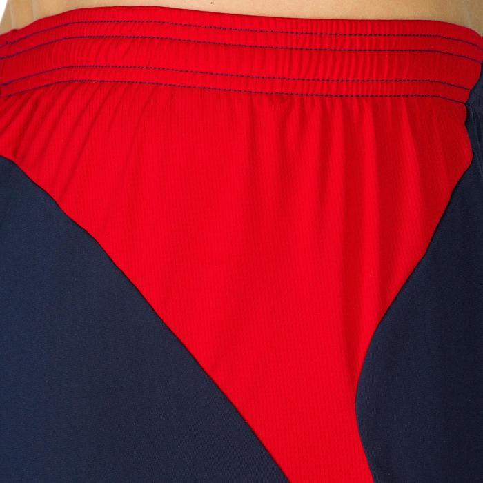 Herenshort V500 blauw en rood