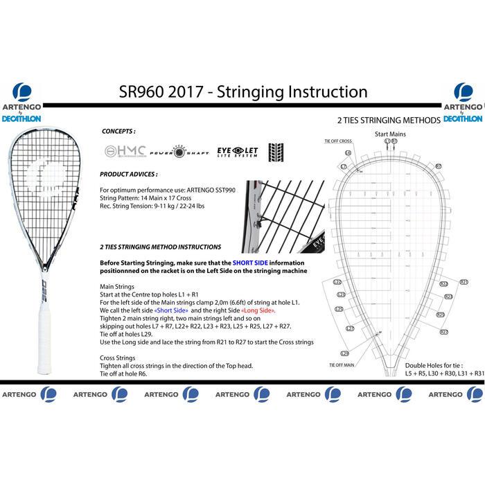 Set squashracket SR960 (racket SR960 + hoes met 3 rackets) - 1322753