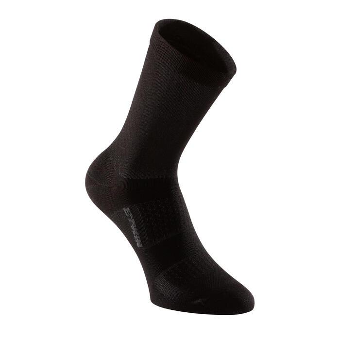 900 Road Cycling Socks - Navy/Red - 1322798