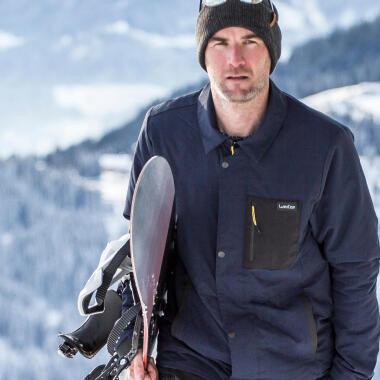 Snowboard mountain homme