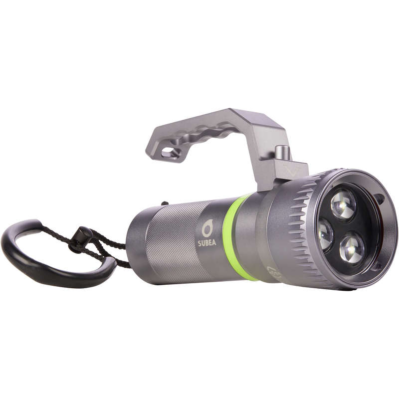 SCD GEAR & ACCESSORIES Elektronik - Dyklampa 800 Lumen SUBEA - Lampor, Batterier, Powerbank och Laddare