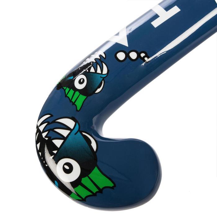 Hockeystick voor beginnende kinderen hout FH100 piranha