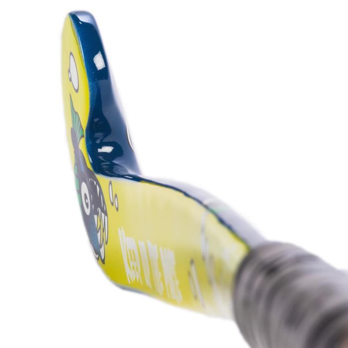 Stick de hockey sobre hierba niños iniciación madera FH100 Piraña