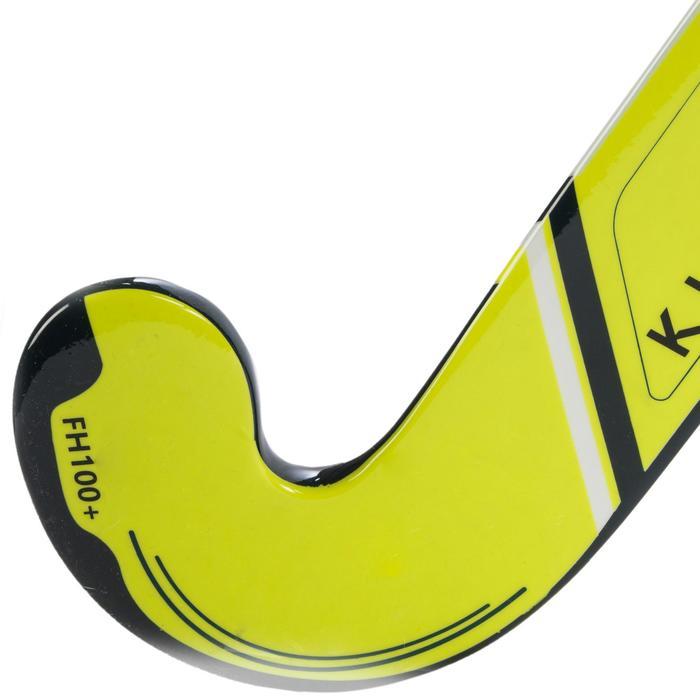 Feldhockeyschläger FH110 Glasfaser Kinder (fortgeschr.)/Erw. (Einsteiger) gelb
