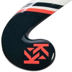 Stick de hockey sur gazon enfant confirmé/adulte débutant fiberglass FH110 rose