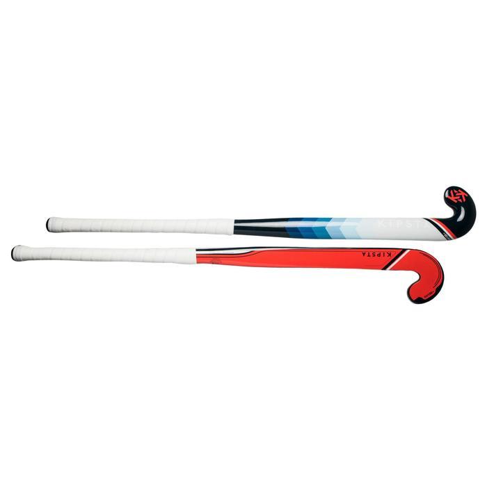 Stick Hockey Hierba Kipsta FH110 fibra de vidrio rosa