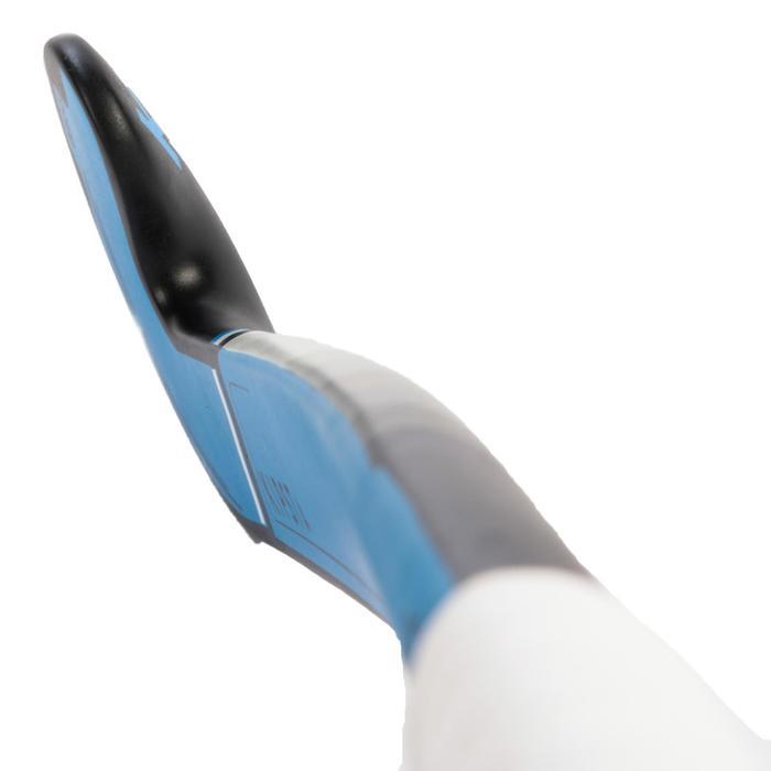 Feldhockeyschläger FH500 Fortgeschrittene Mid Bow 50% Carbon Erwachsene blau