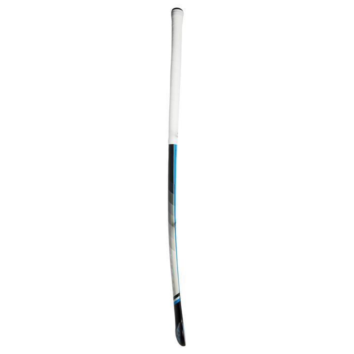 Stick hockey sobre hierba adulto perfeccionamiento midbow 50% carbono FH500 azul