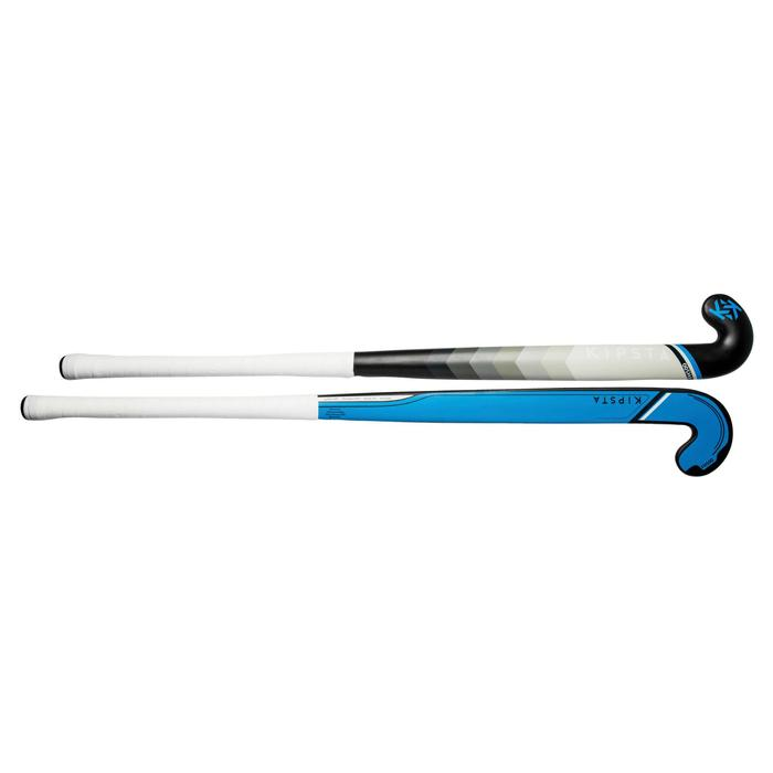 Feldhockeyschläger FH500 Erwachsene Mid Bow 50% Carbon blau