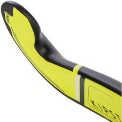 Feldhockeyschläger FH900 Erwachsene Low Bow 95% Carbon gelb