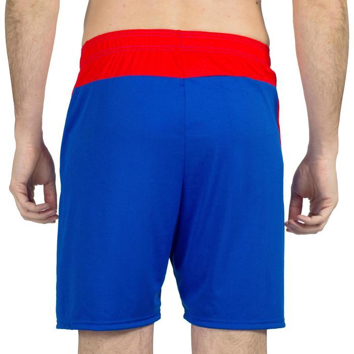 Pantalón de Balonmano Atorka H500 Hombre Azul Rojo