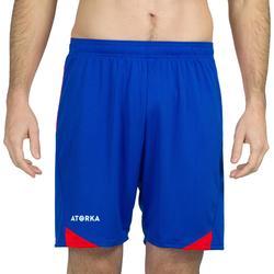 Handbalbroekje heren H500 blauw / rood