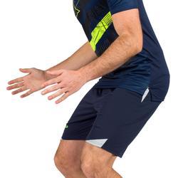 Short de balonmano H500 hombre Gris Azul y Gris