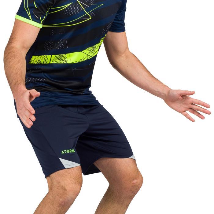 Short de balonmano hombre H500 azul / gris