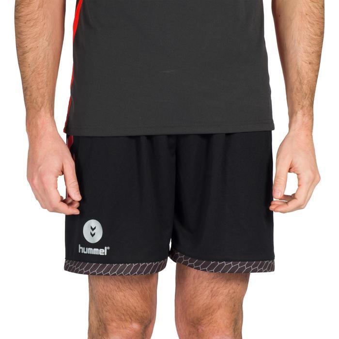 Handbalshort voor volwassenen Hummel zwart/rood