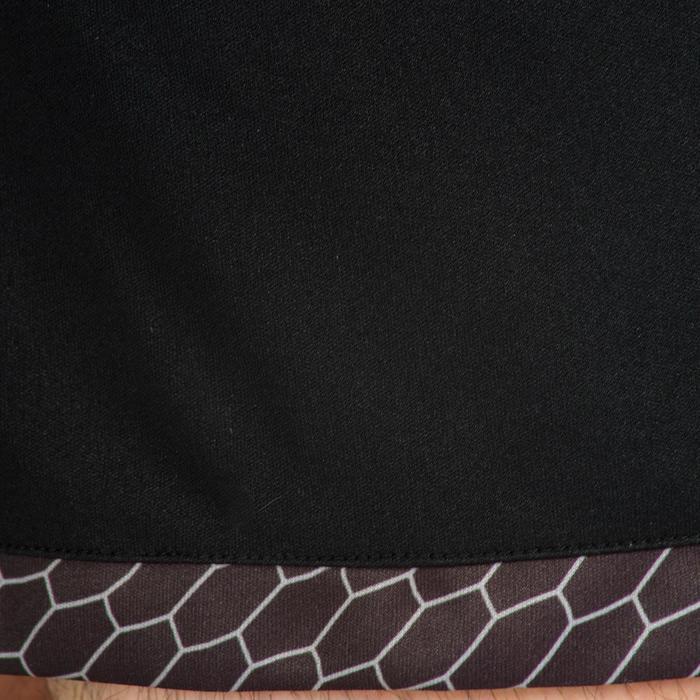 Short de Handball adulte Hummel de couleur gris et rouge
