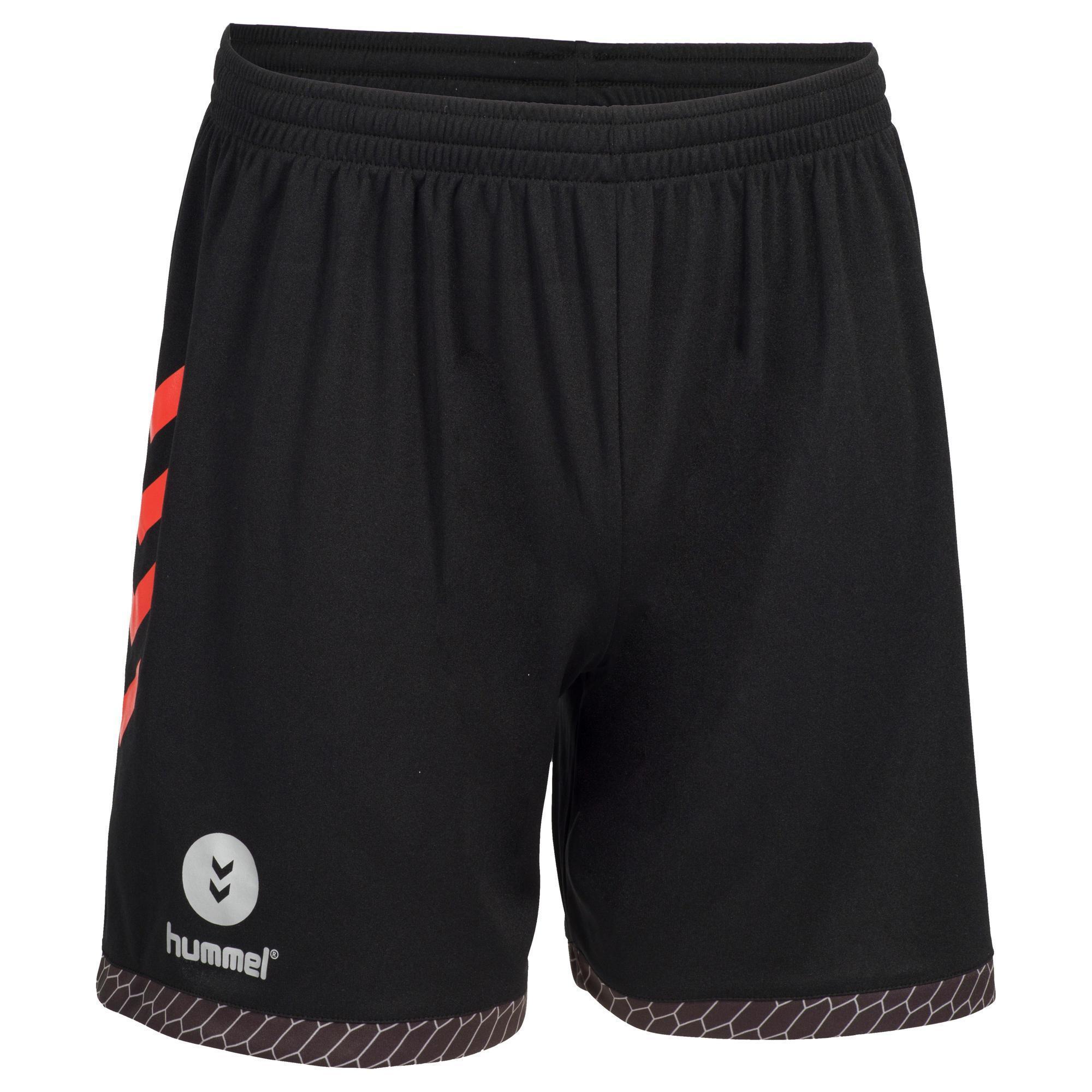 Hummel Handbalbroekje Heren zwart/rood