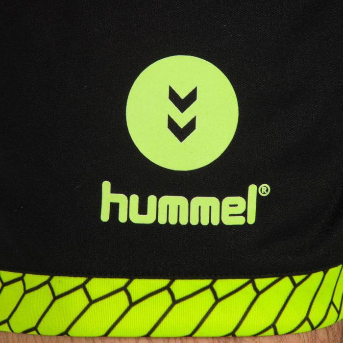 Short de balonmano Hummel hombre negro / naranja / amarillo