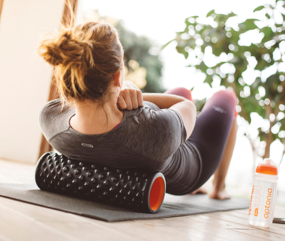 What is the use of massage rollers, balls and sticks for recovery?