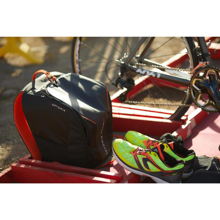 Siliconen snelveters Freelace TS oranje triatlon
