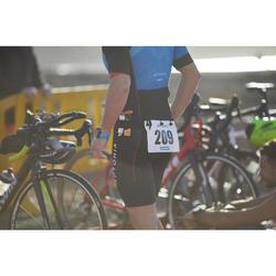 Cinturón Portadorsal Portageles Triatlón Aptonia Negro Silicona